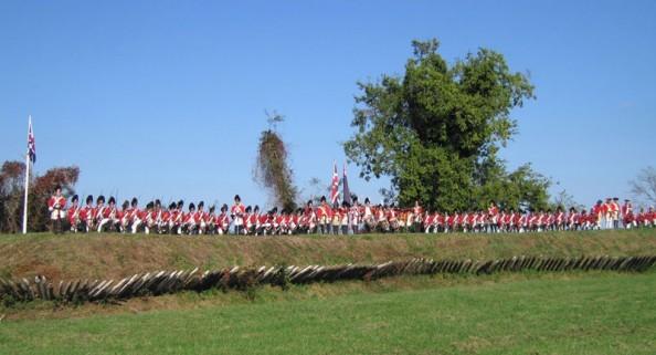 Prelude to Yorktown 25 & 26 September 21