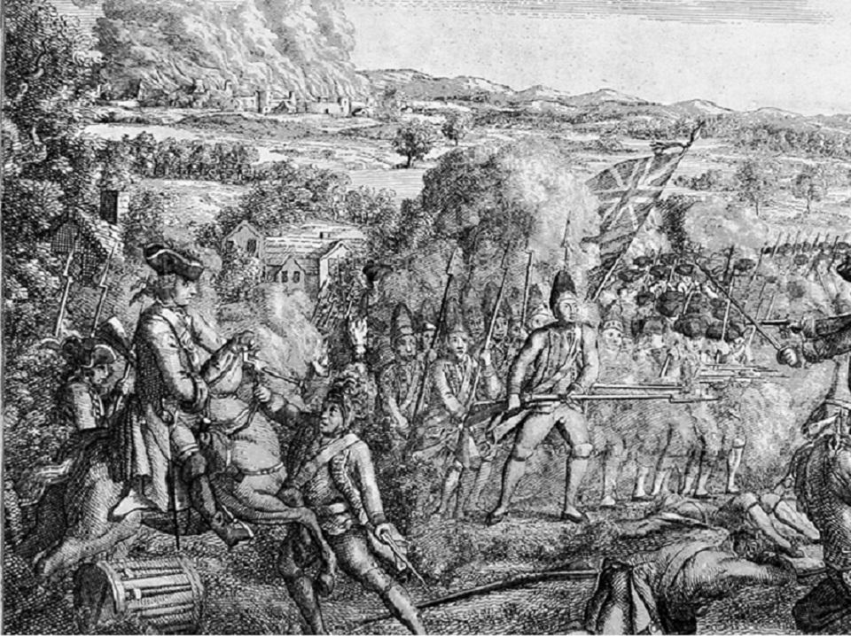 Battle of Ridefield, Ridgefield, CT, 29 April