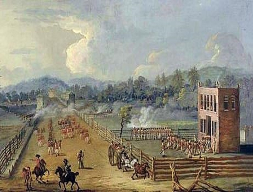 Battle of Brandywine (Sandy Hollow), Birmingham Township, PA, 16 & 17 September