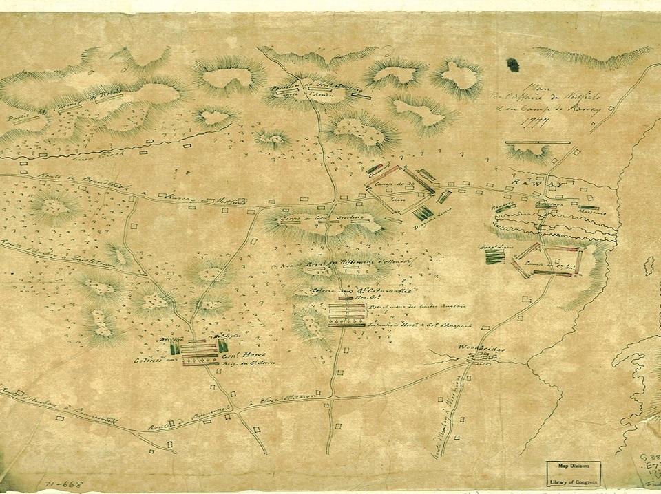 Battle of Short Hills, Edison, NJ 24 & 25 June