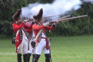 Brigade Encampment, Fort Laurens State Memorial, Bolivar, Ohio, 17 & 18 July 2021