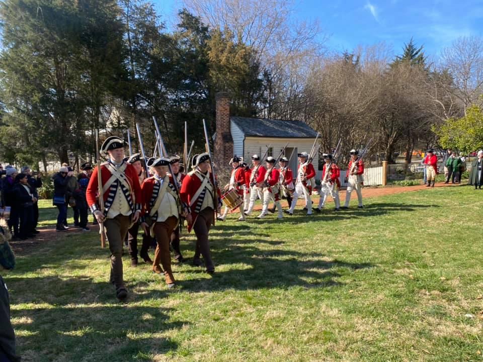 Revolutionary War Living History Day, Hillsborough, NC, 28 August